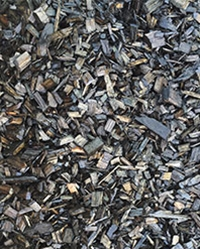 Black Decorative Mulch