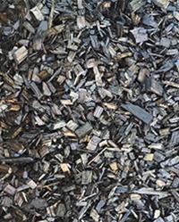 Black Decorative Mulch