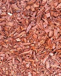 Red Decorative Mulch