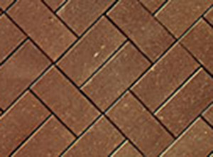 chestnut clay pavers