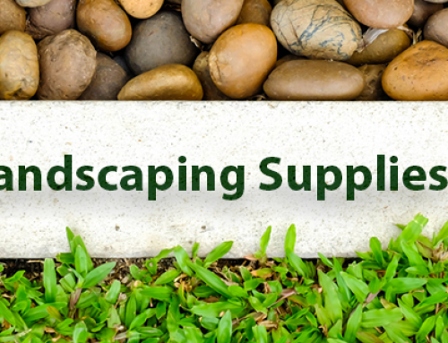 Landscaping Supplies to Use in Your Garden